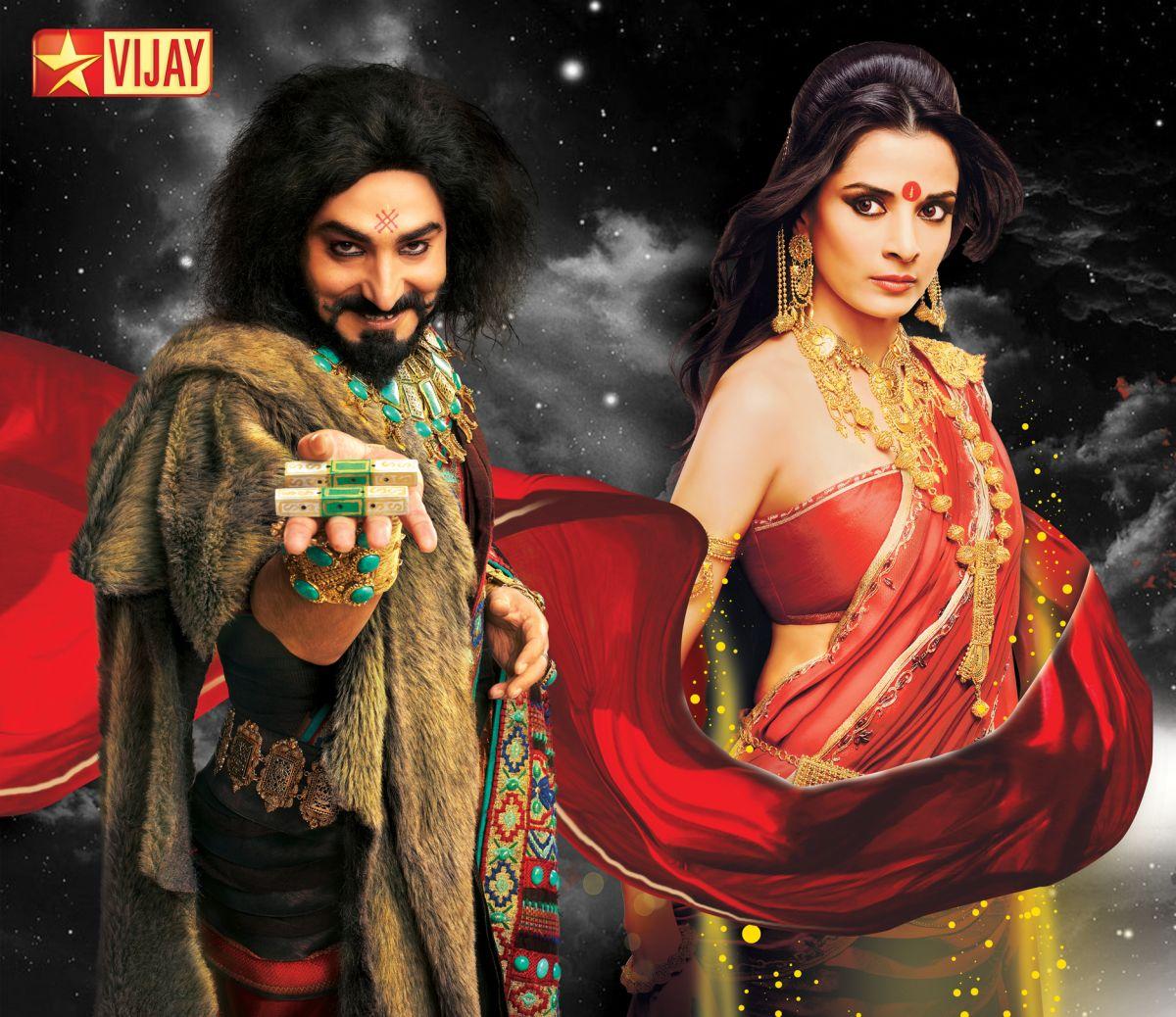 Mahabharatam On Vijay Tv The Beginning Of The Battle