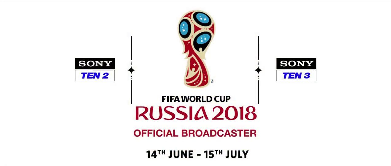 FIFA World Cup 2018 in India Live Telecast Channels and