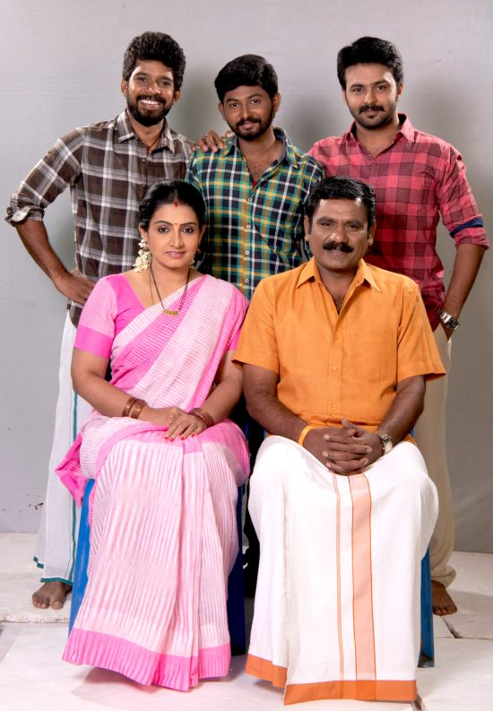 Pandian Stores Serial On Vijay TV - Monday To Friday 10 P M