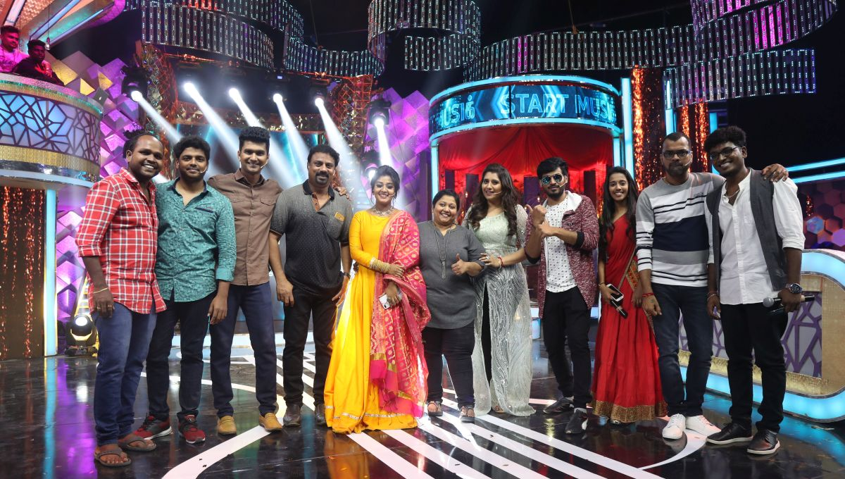 Start Music Tamil Game Show On Vijay Tv Stating On 26th May