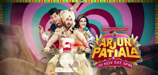 Watch the World Television Premiere of Arjun Patiala