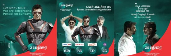 zee thirai channel number in dth services